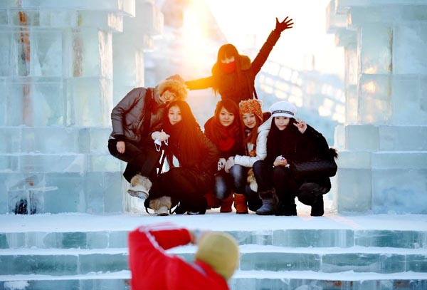 Harbin International Ice and Snow Festival 2012