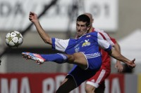Novak Djokovic play footbal match