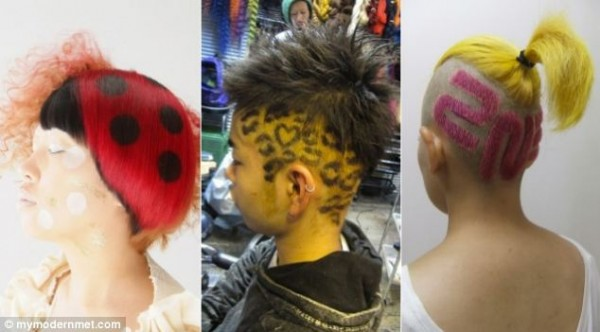 Weird japanese hairstyles