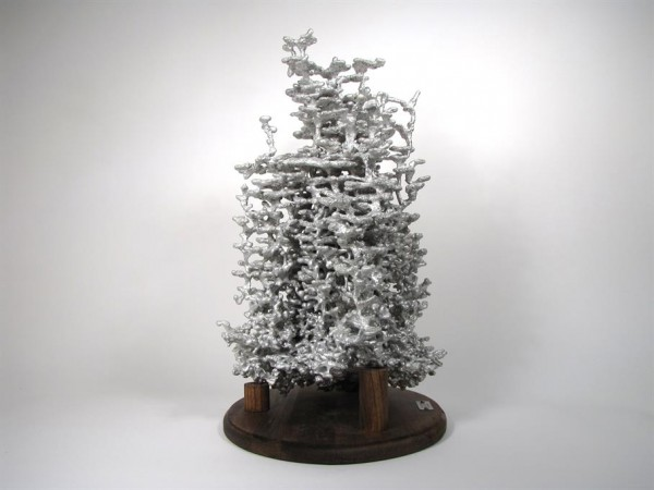 Casting a Fire Ant Colony with Molten Aluminum