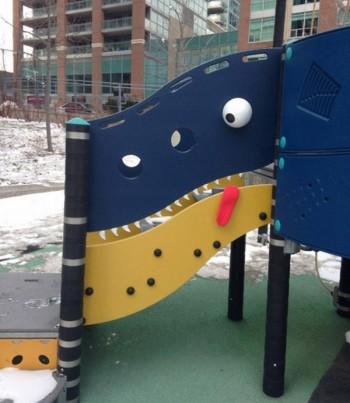 Funny street art in Toronto