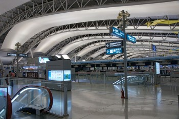 Kansai International Airport, Osaka, Japan