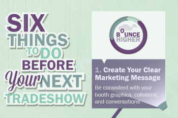 Six Things To Do Before Your Next Trade Show [Infographic]