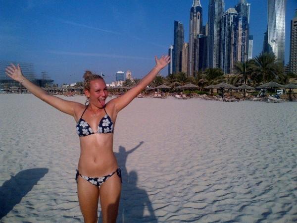 Sexy Donna Vekic Bikini Photos