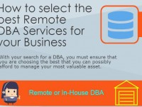 How to select the best Remote DBA Services for your Business [Infographic]
