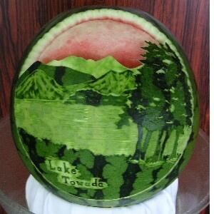 Amazing Watermelon Fruitcarving