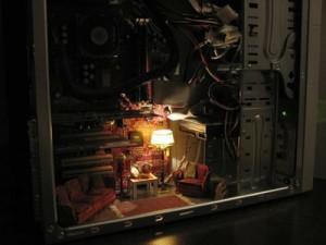 Miniature Room inside PC