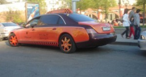 Maybach Taxi Moscow Russia
