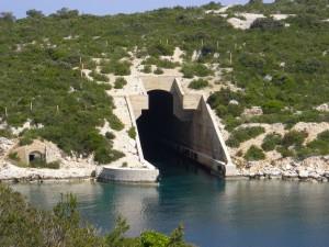 Missile boat base.