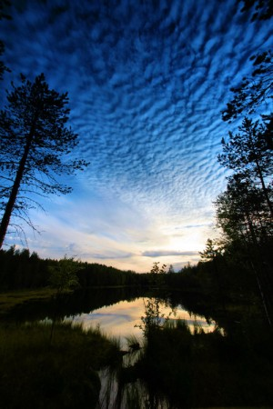 summer night in Finland . ..