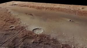 Mars Crater 03