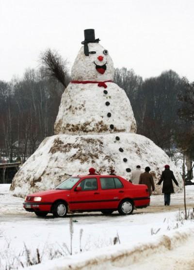 Largest Snowman