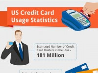 Credit Card Usage in USA 2012 (Infographic)