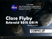 NASA JPL Live Asteroid 2012 DA14
