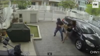 Malaysian Woman Fights Snatch Thief
